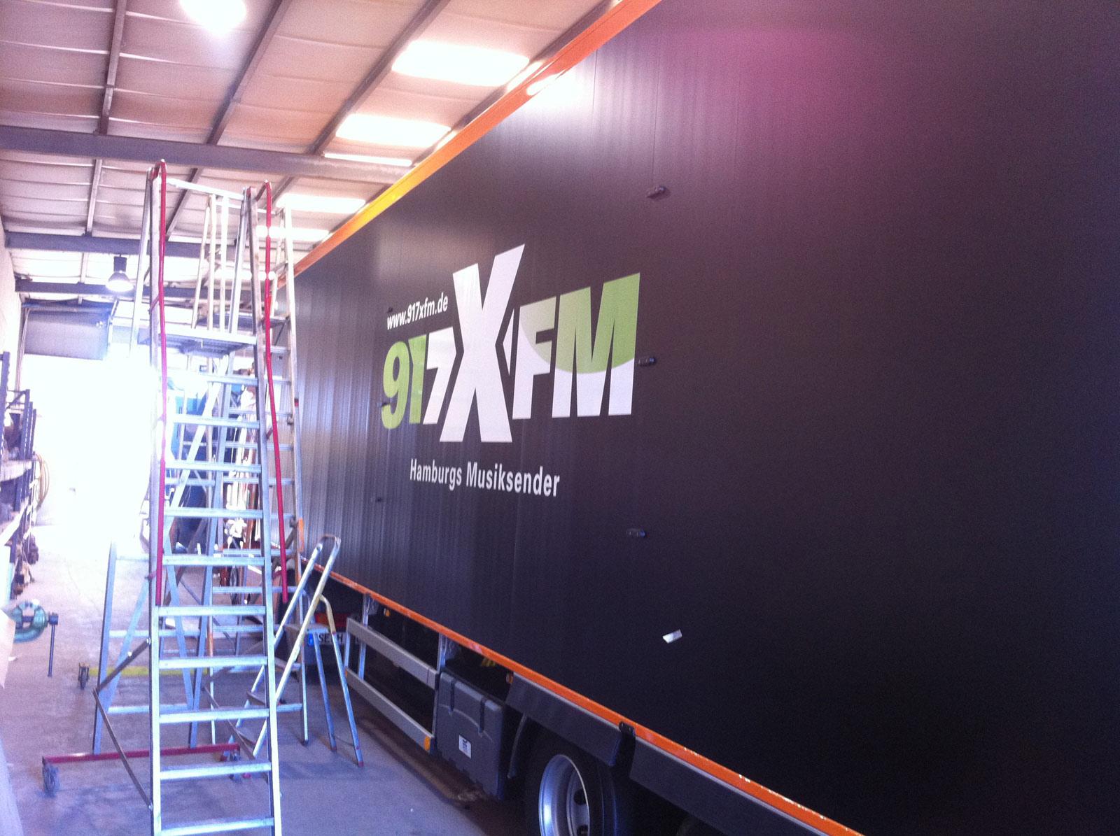 917XFM LKW Folierung.