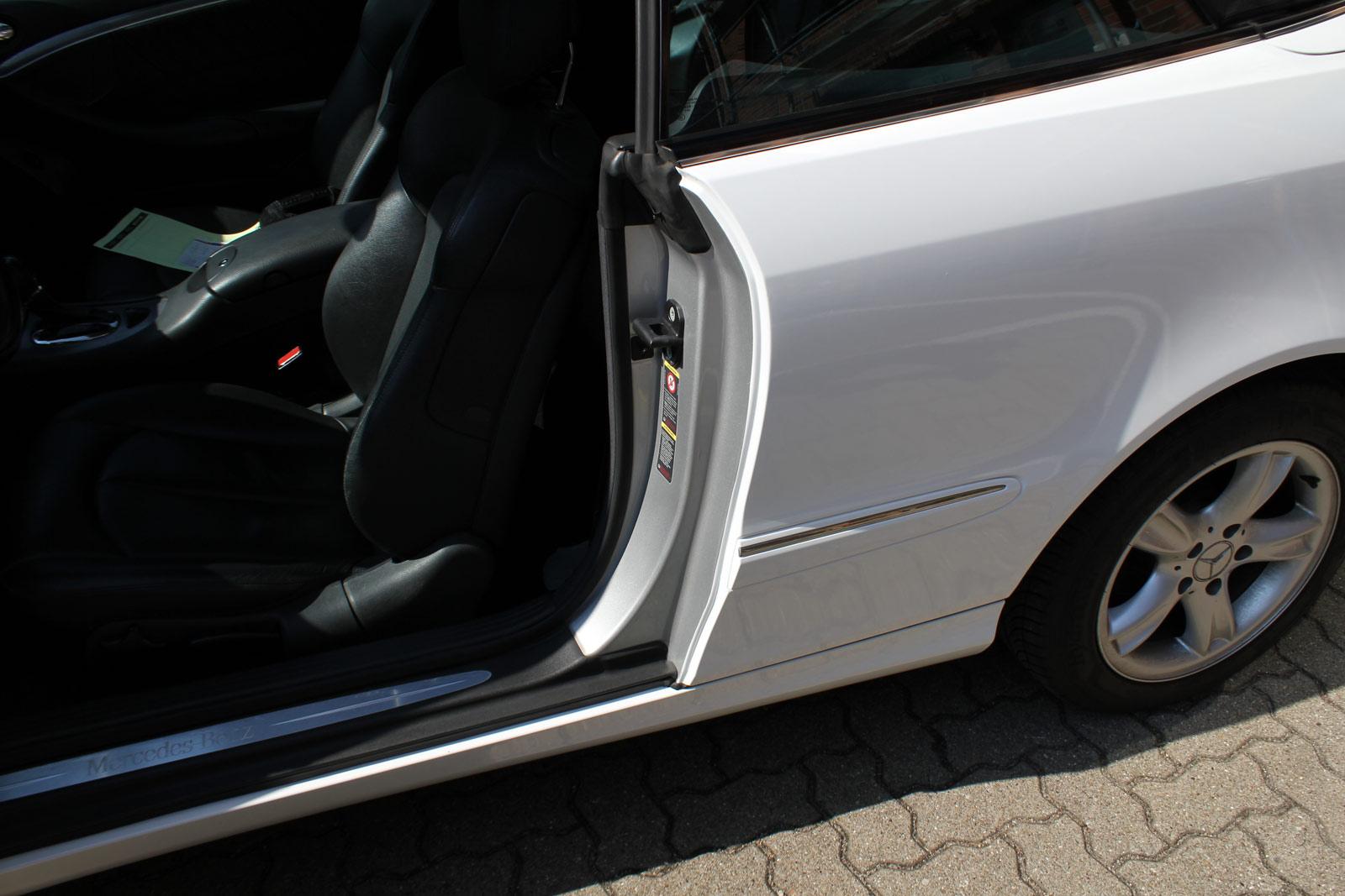 Mercedes_CLK_Cabrio_Folierung_Weiss__Glanz_10