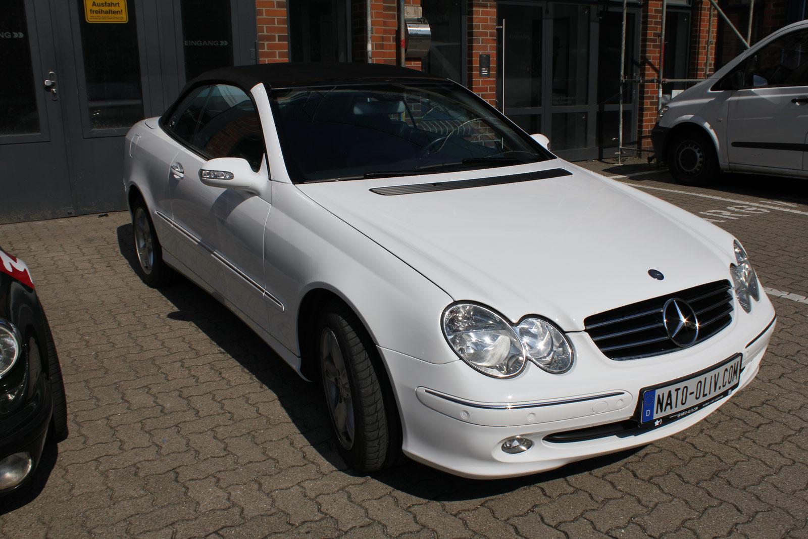 Mercedes_CLK_Cabrio_Folierung_Weiss__Glanz_14