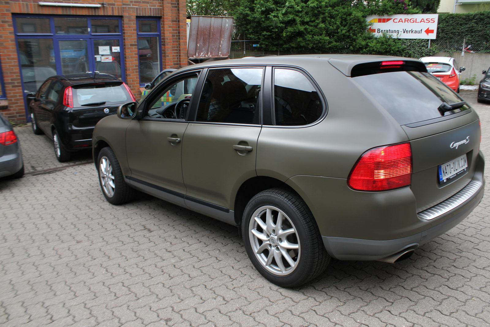 Porsche_Cayenne_Folierung_Nato-Oliv_Matt_08
