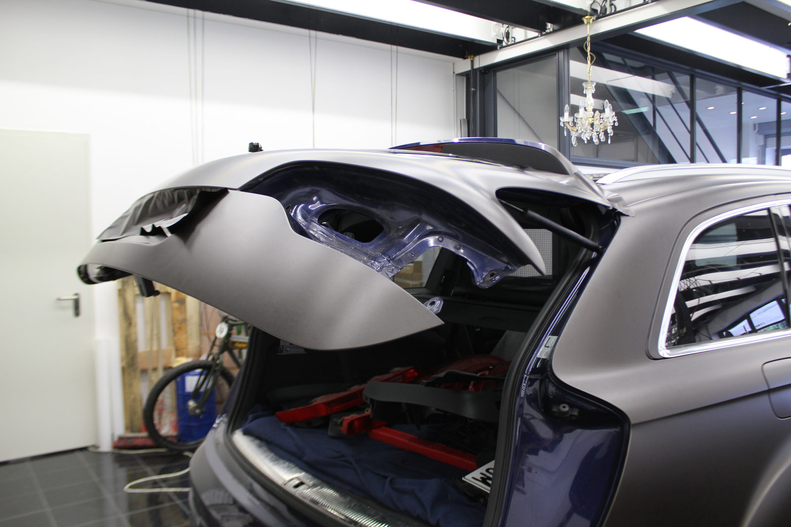 Audi_Q7_Folierung_Braun_Matt_Metallic_01