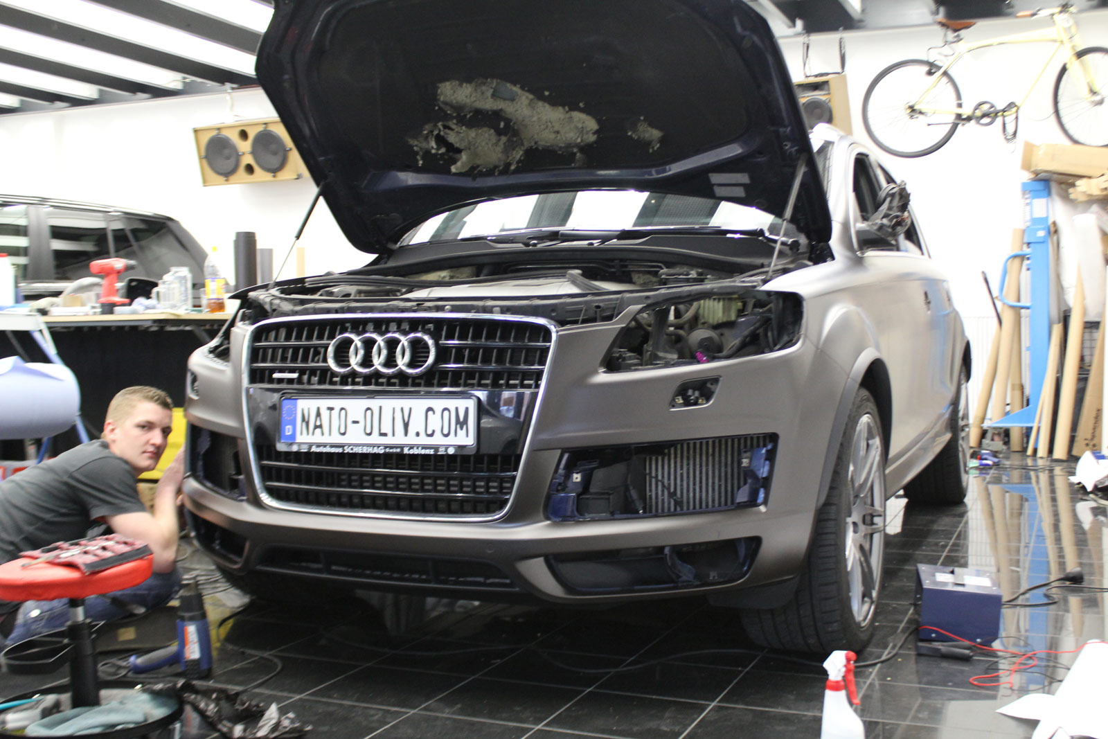 Audi_Q7_Folierung_Braun_Matt_Metallic_03