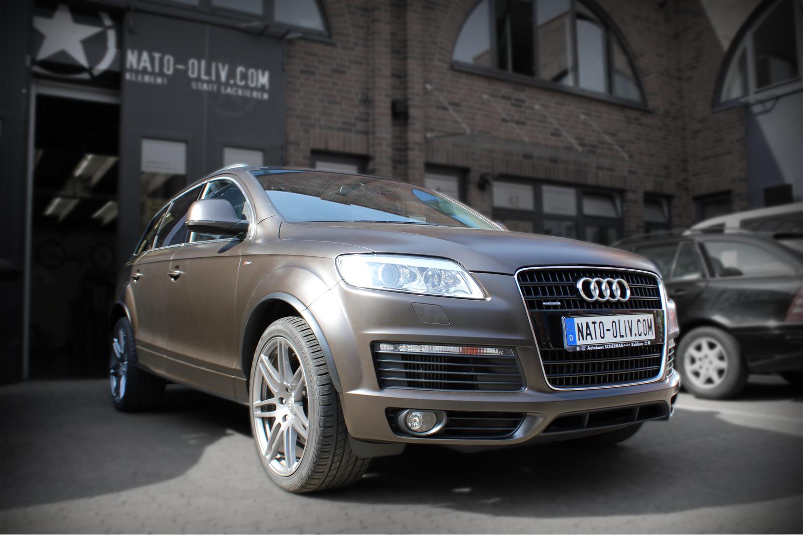 Audi_Q7_Folierung_Braun_Matt_Metallic_Titelbild