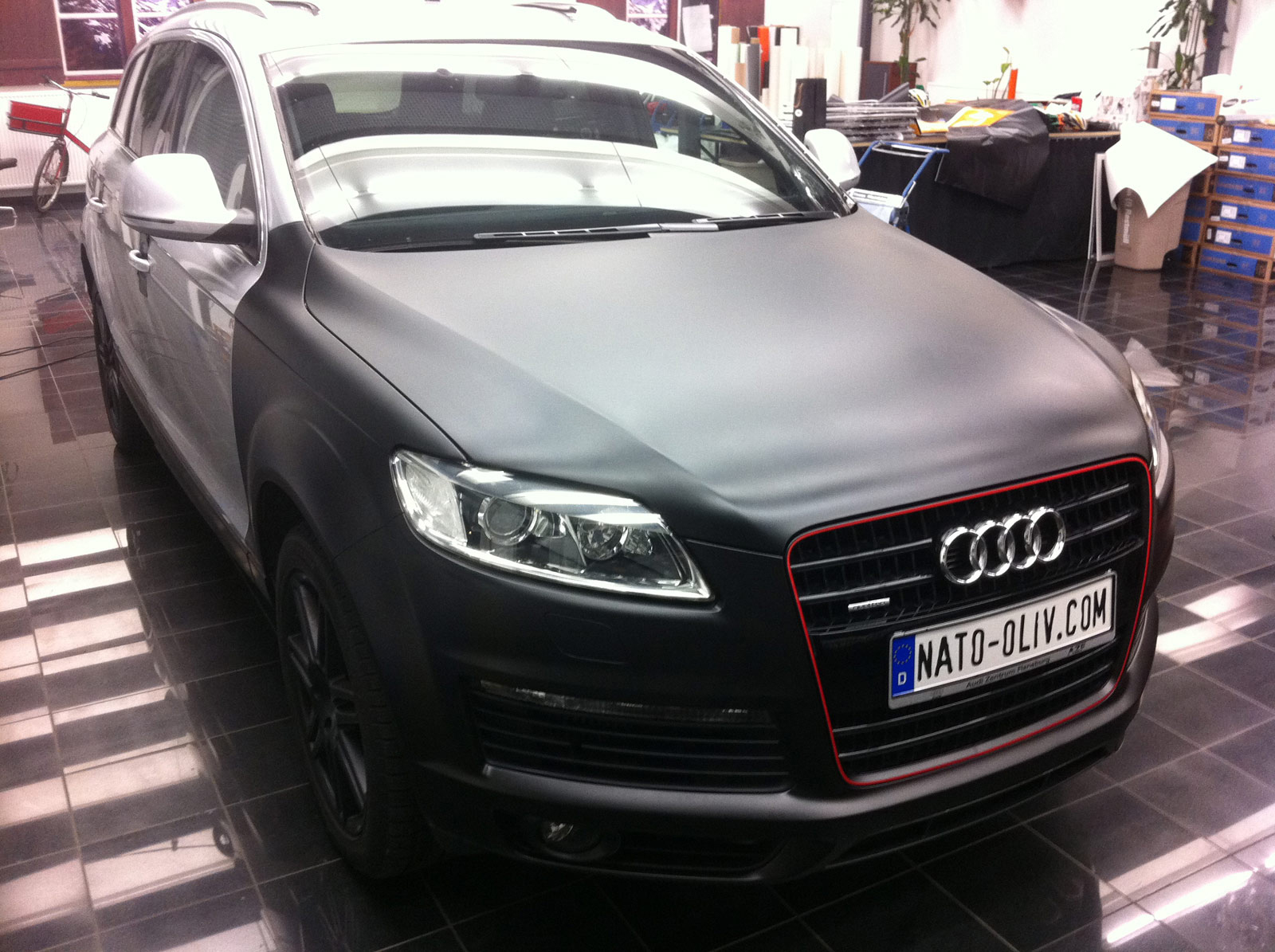 Audi_Q7_Folierung_Schwarz_Matt_17