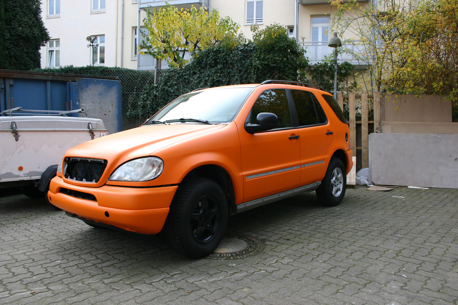 MERCEDES_ML_FOLIERUNG_ORANGE_MATT_13