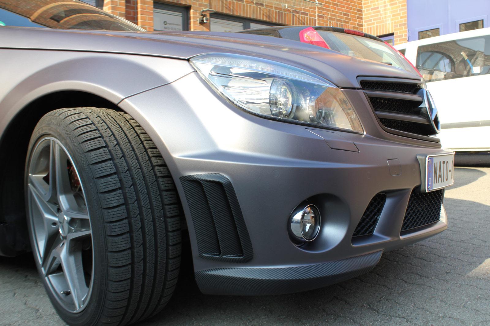 Mercedes_C63_AMG_Folierung_Anthrazit_Matt_Metallic_04