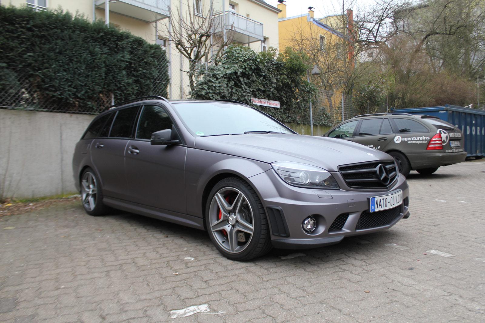Mercedes_C63_AMG_Folierung_Anthrazit_Matt_Metallic_05
