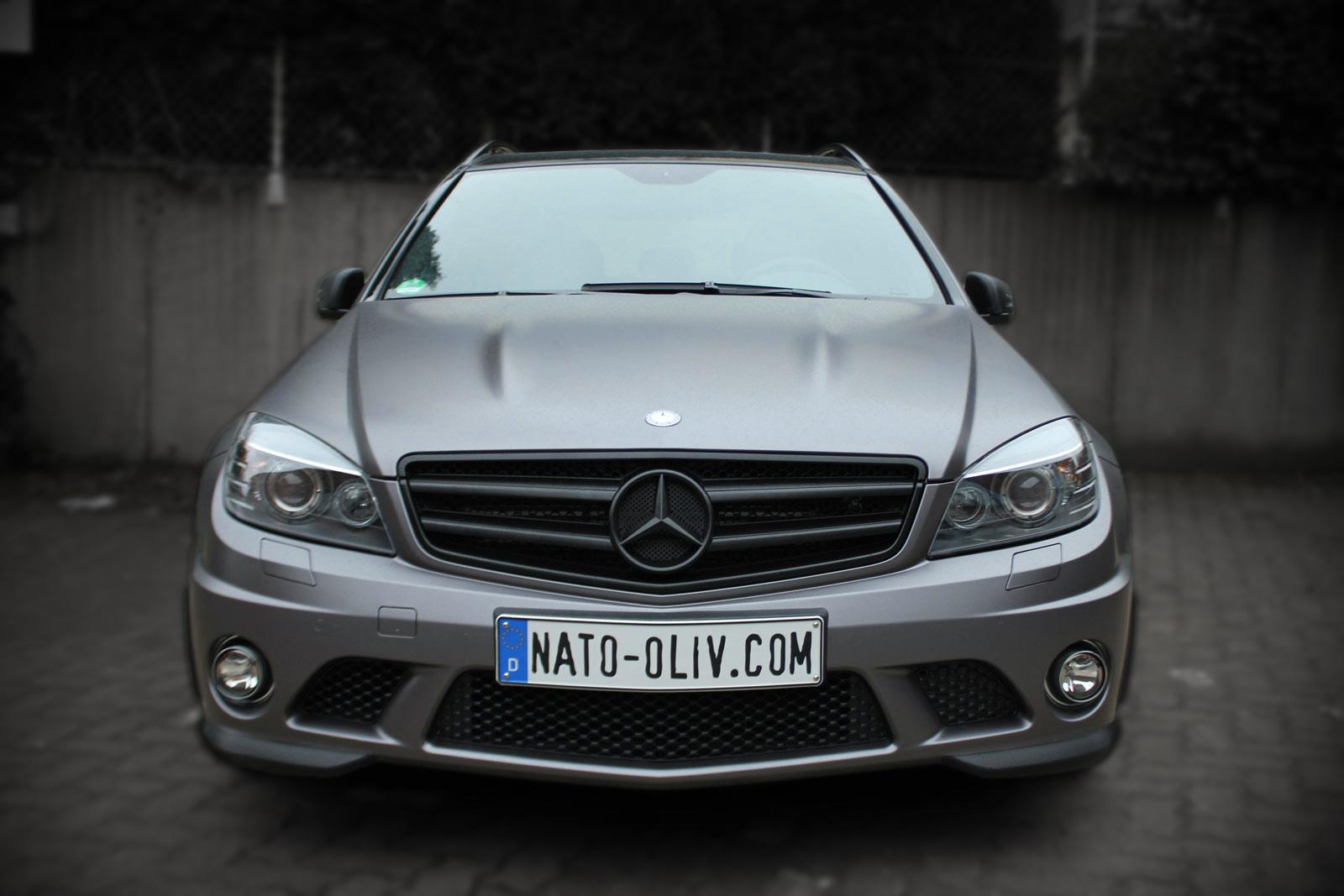 Mercedes_C63_AMG_Folierung_Anthrazit_Matt_Metallic_Titelbild