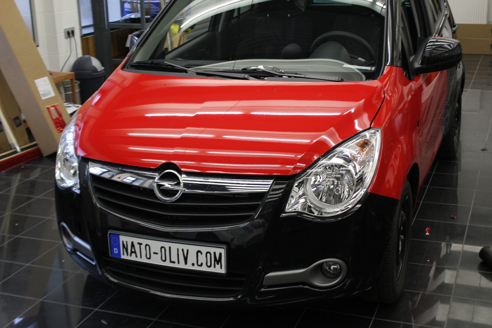 Opel_Agila_Folierung_Rot_Glanz_06