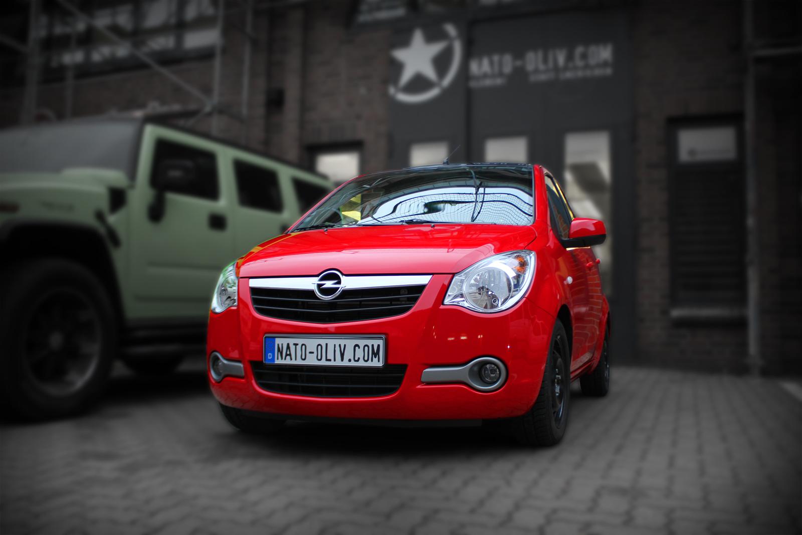 Opel_Agila_Folierung_Rot_Glanz_Titelbild