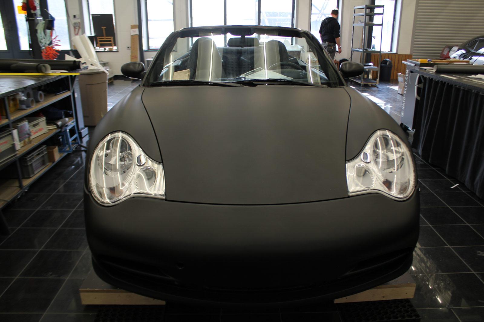 Porsche_Cabrio_Folierung_Schwarz_Ultramatt_07