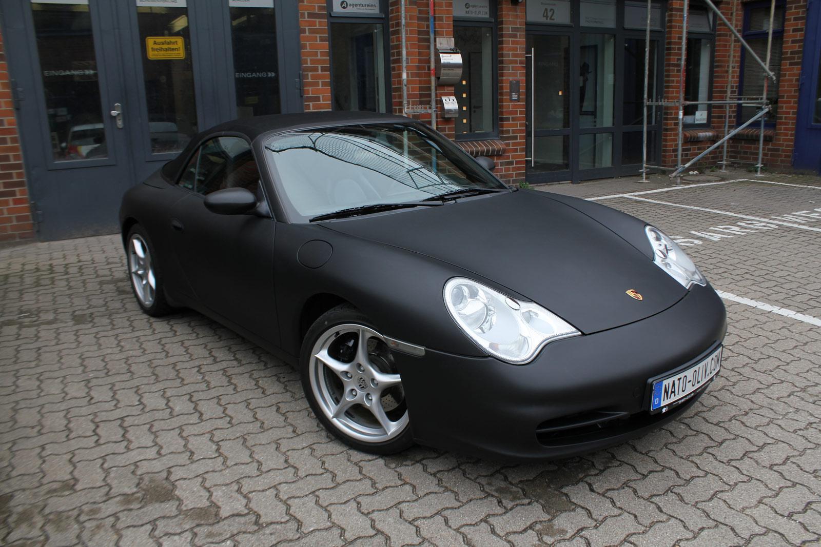 Porsche_Cabrio_Folierung_Schwarz_Ultramatt_10