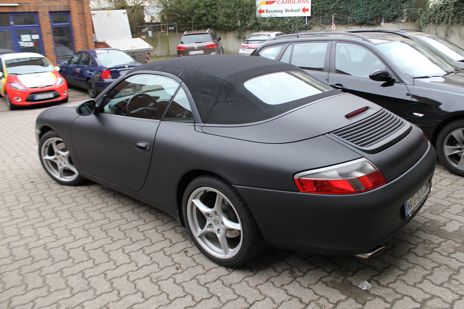 Porsche_Cabrio_Folierung_Schwarz_Ultramatt_16