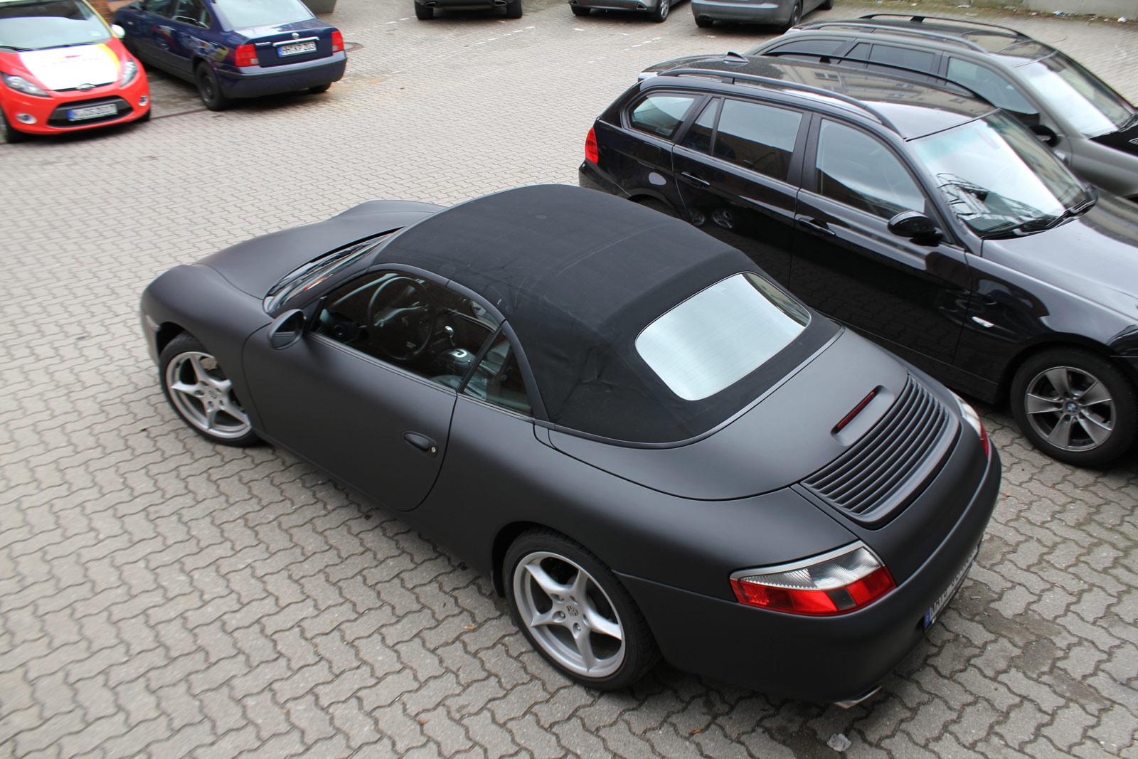 Porsche_Cabrio_Folierung_Schwarz_Ultramatt_24