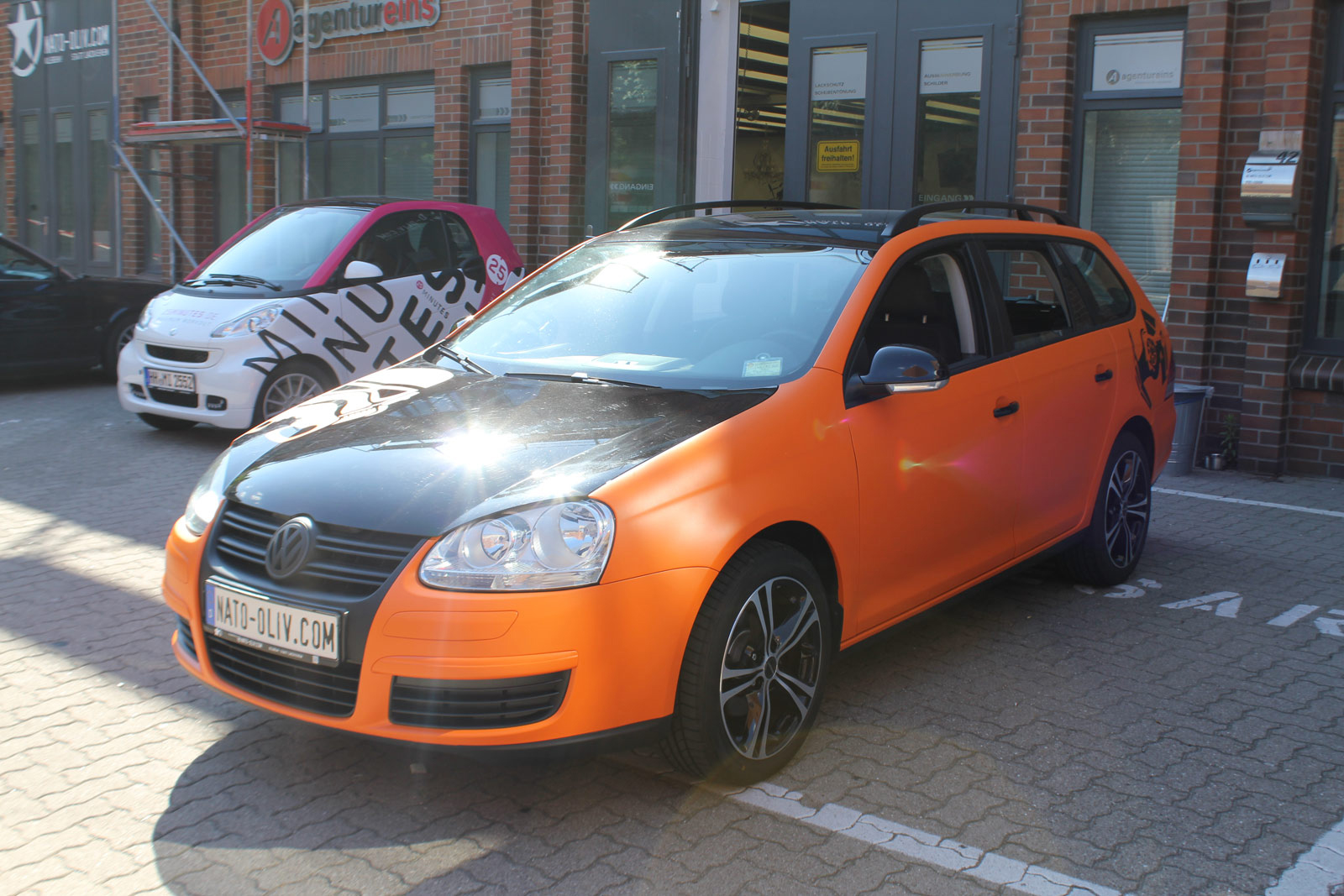 VW_Golf5_Variant_Folierung_Orange_Matt_11