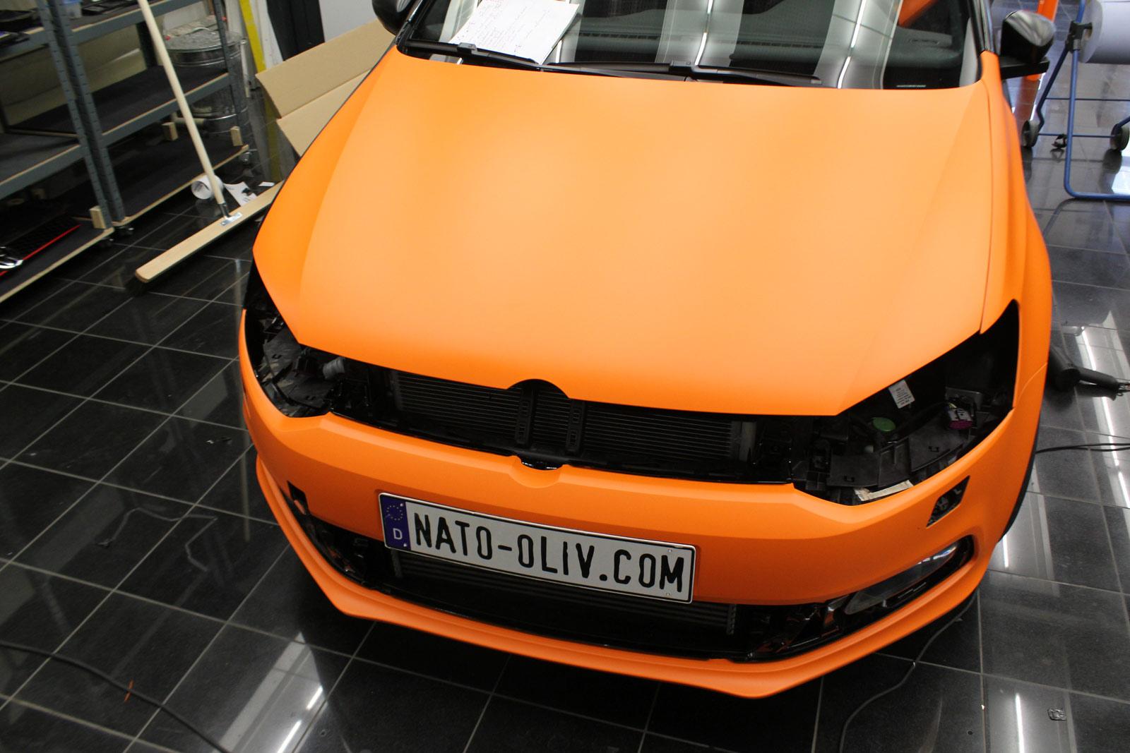 VW_Polo_GTI_Folierung_Orange_Matt_11