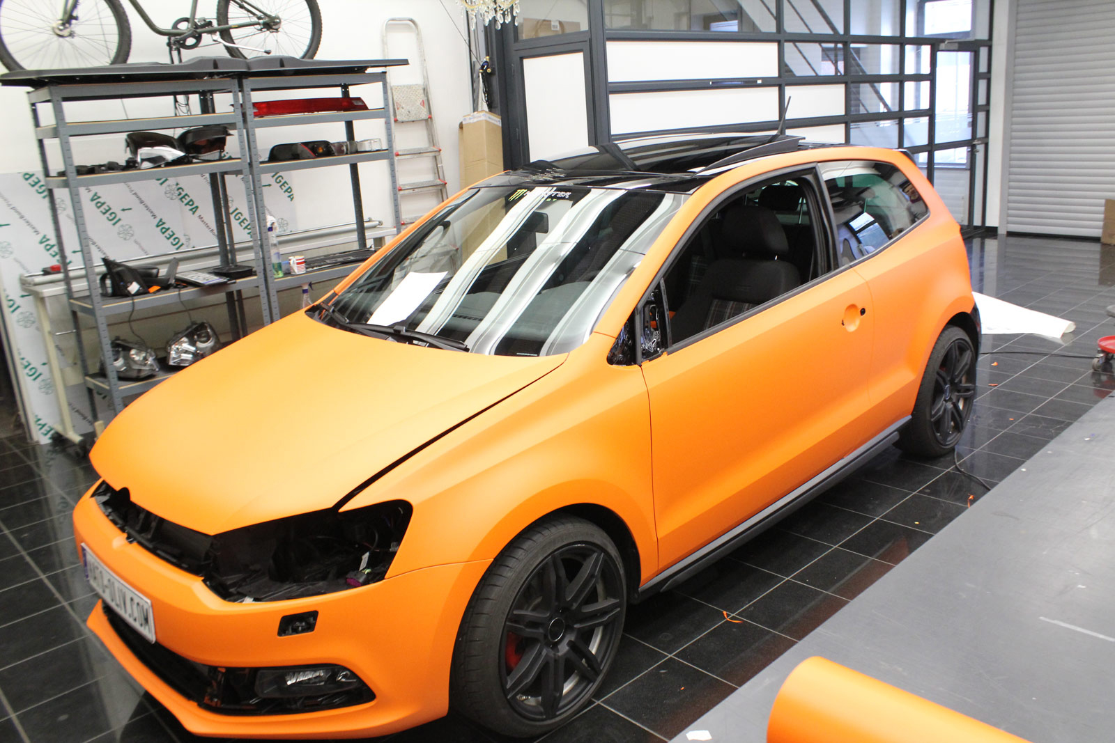 VW_Polo_GTI_Folierung_Orange_Matt_12
