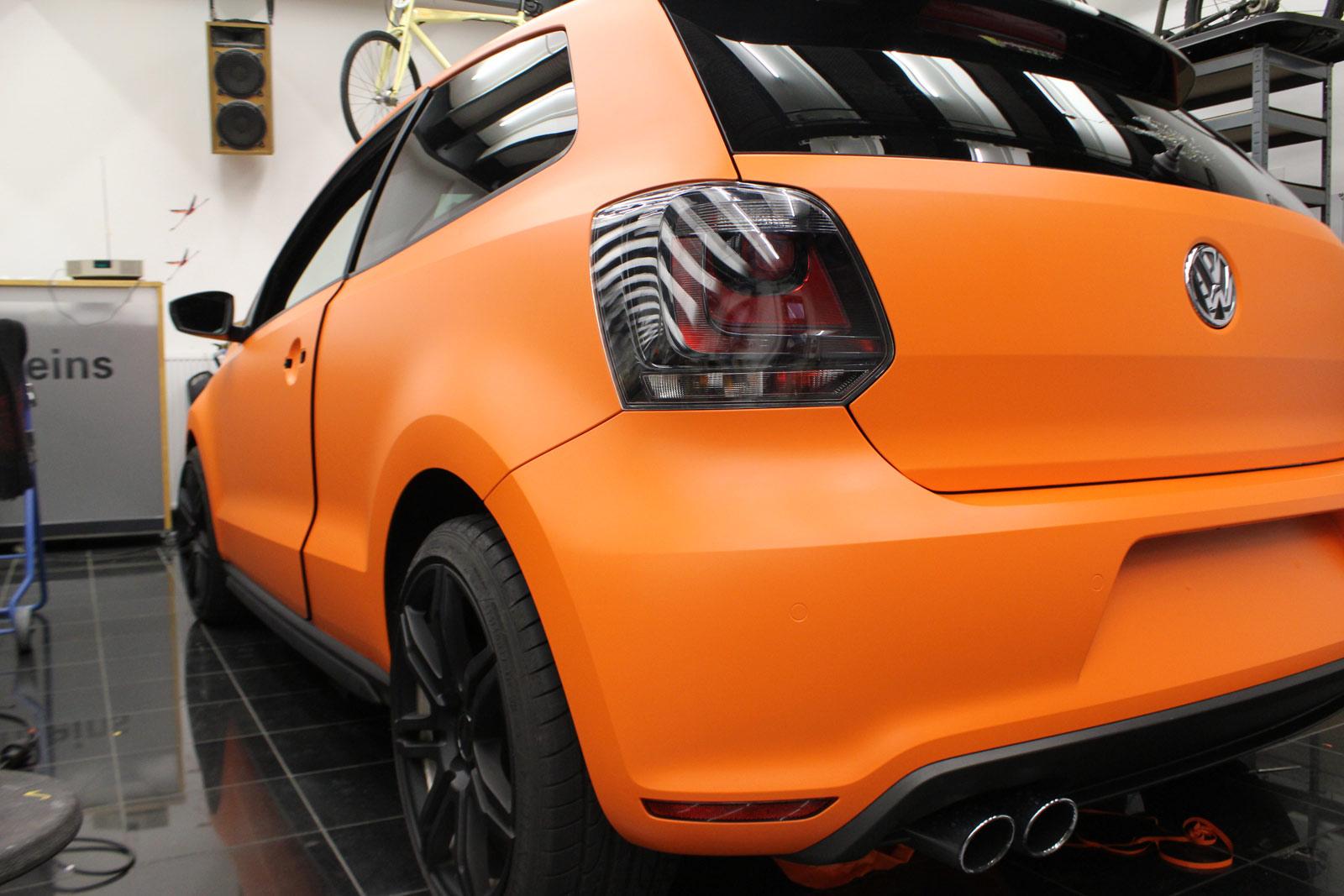 VW_Polo_GTI_Folierung_Orange_Matt_14