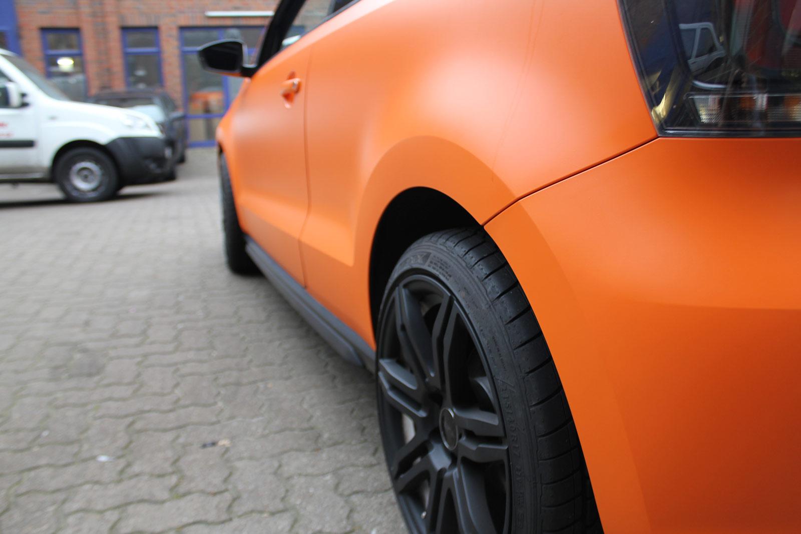VW_Polo_GTI_Folierung_Orange_Matt_18