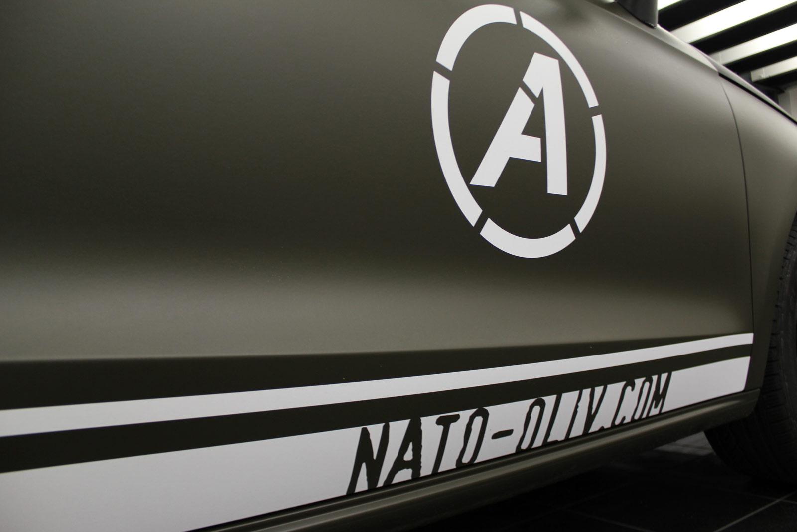 Audi_A1_Nato-oliv_Matt_Steinschlagschutz_15