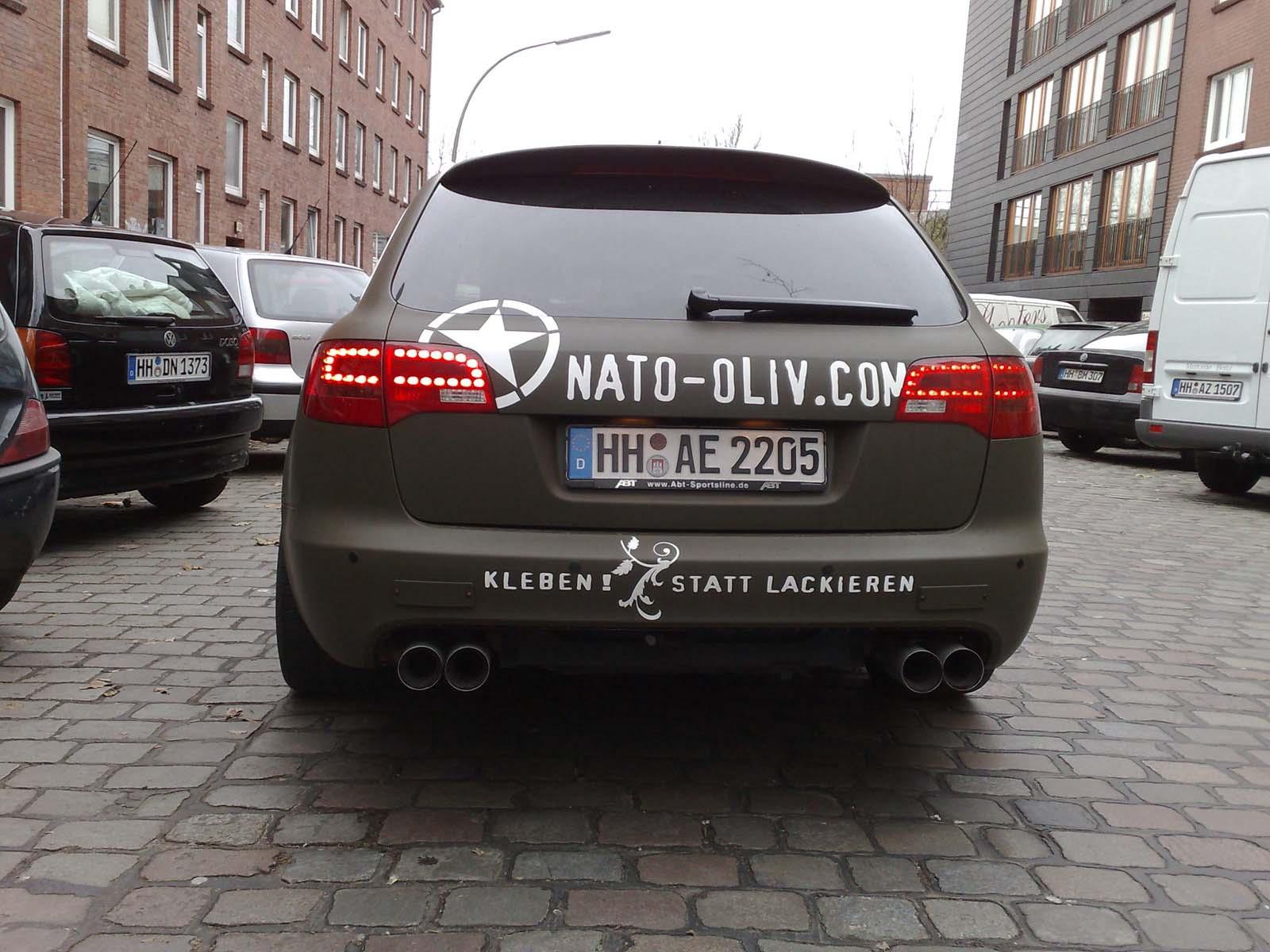 Audi_A6_Nato-Oliv_Folie_Beschriftung_09