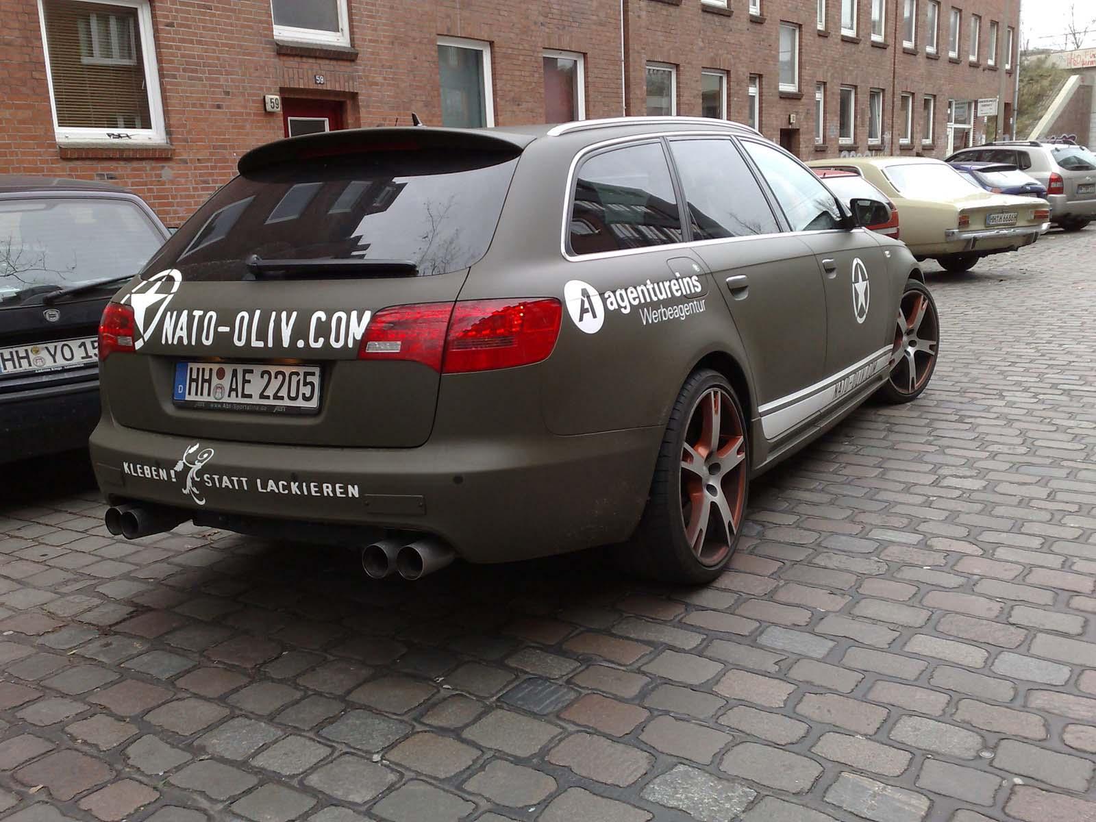 Audi_A6_Nato-Oliv_Folie_Beschriftung_10