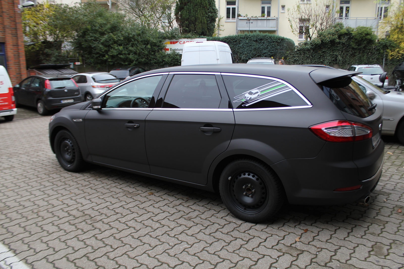 Ford_Mondeo_Folierung_Schwarz_Braun_Matt_Metallic_15
