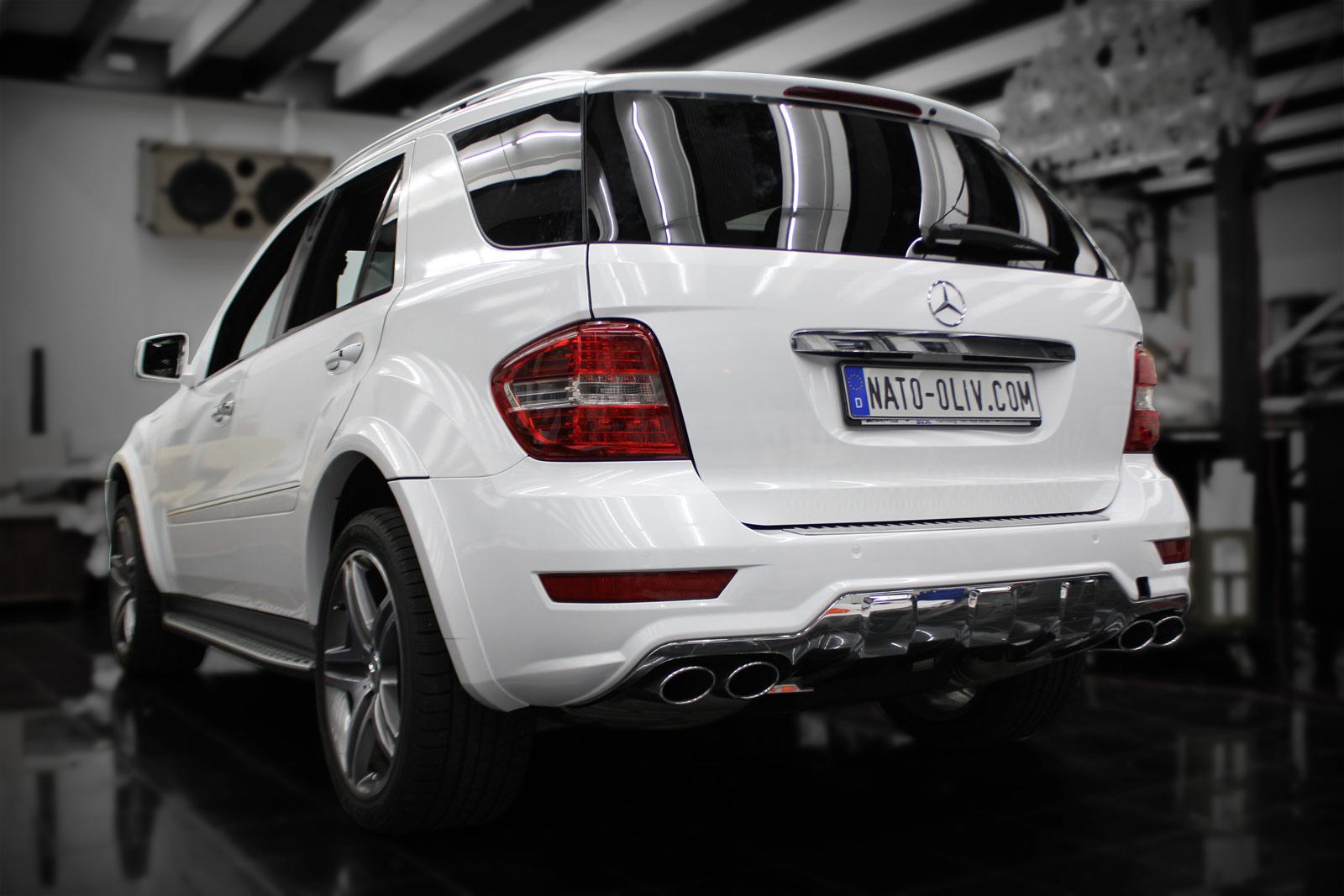 Mercedes_ML_63_AMG_Folierung_Weiss_Glanz_Titelbild