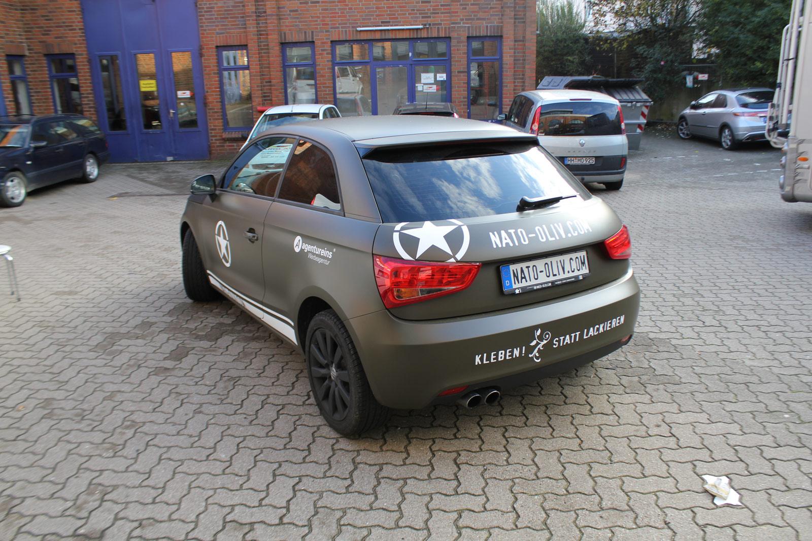 Audi_A1_Nato-oliv_Matt_Steinschlagschutz_31