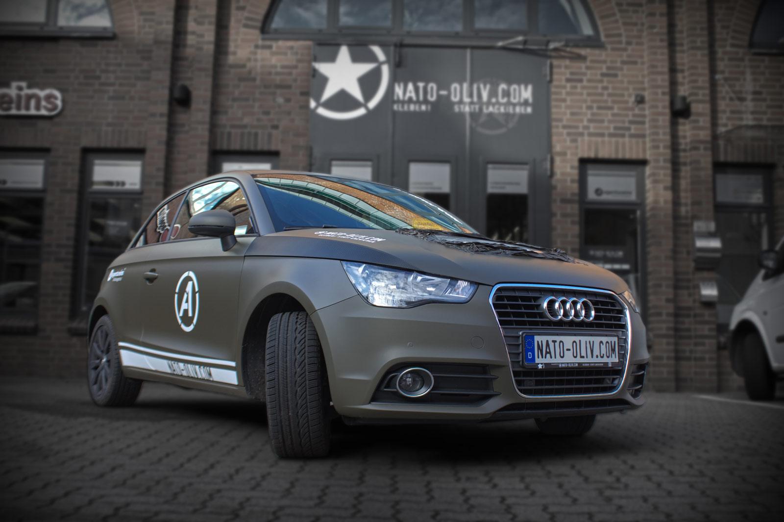 Unser Audi A1 als kostenloser Ersatzwagen, nur im Februar!