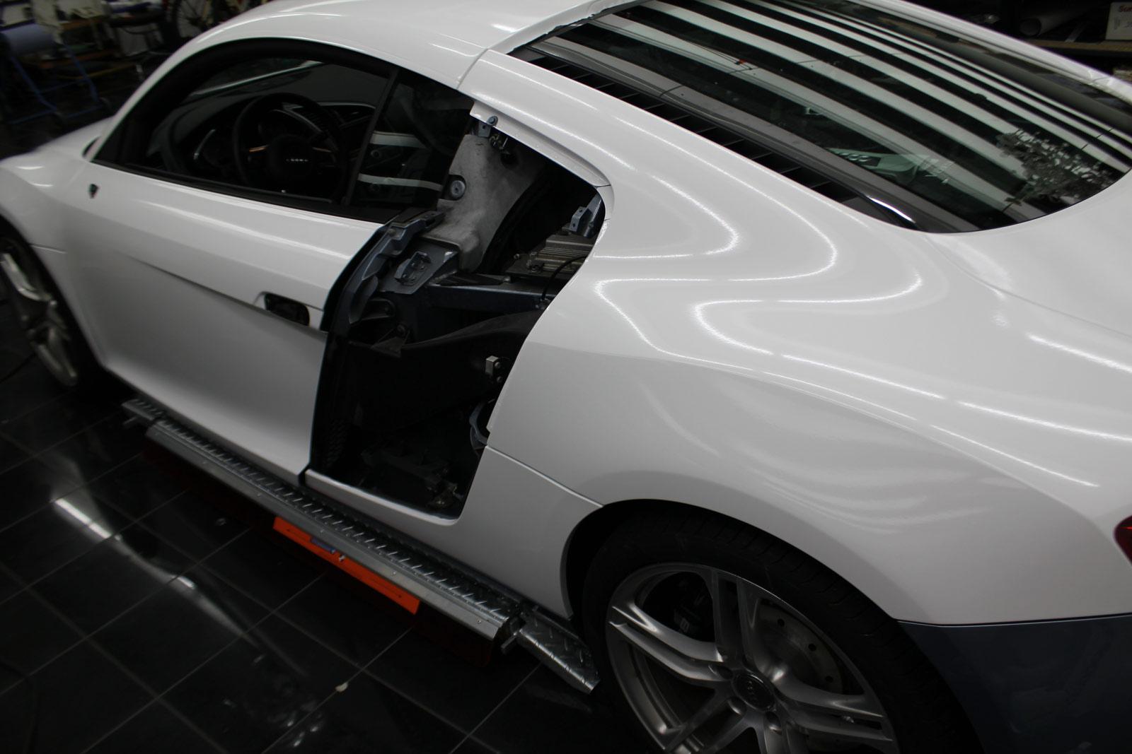 Audi_R8_Folierung_Weiß_Glanz_Union_Jack_Flagge_07