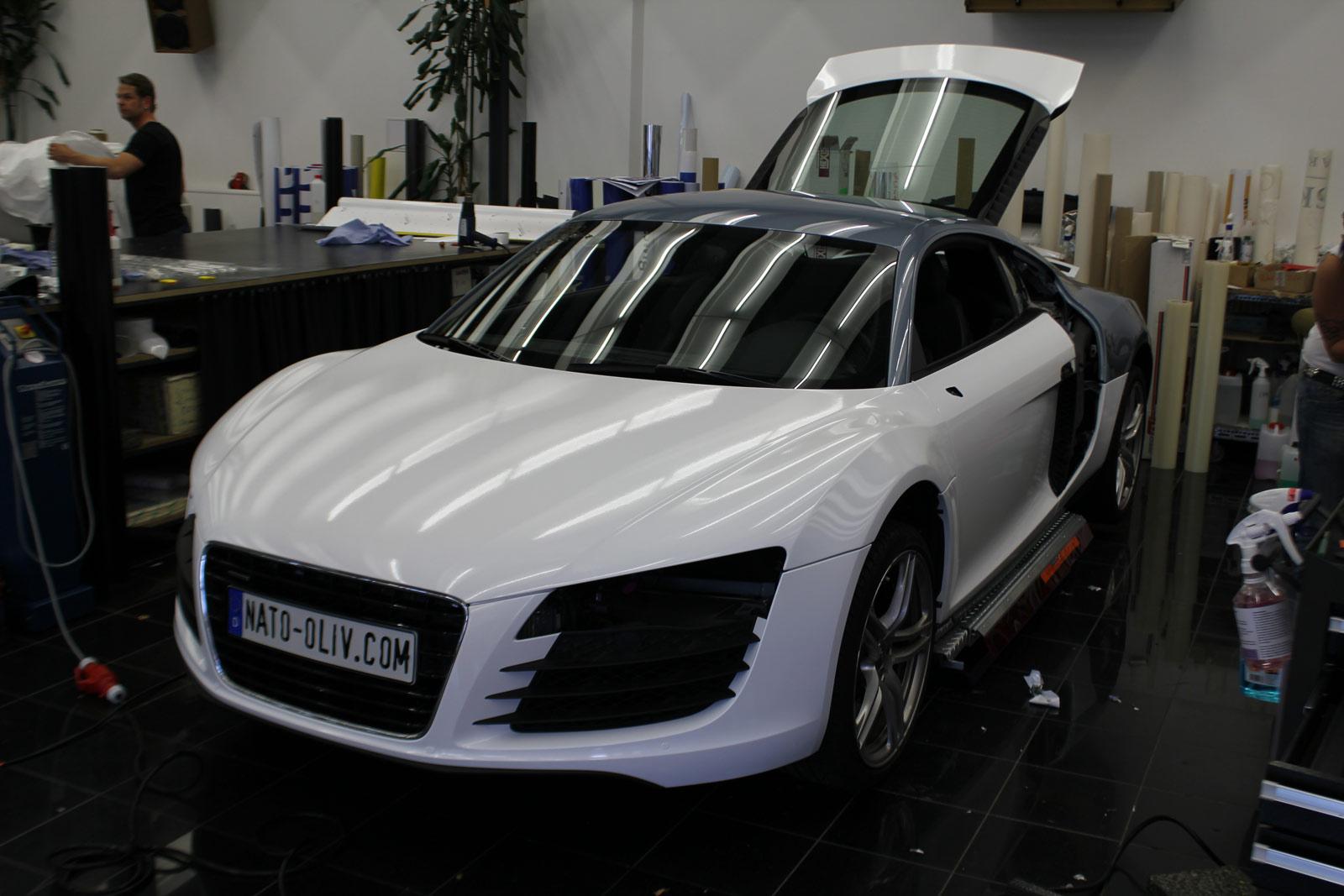 Audi_R8_Folierung_Weiß_Glanz_Union_Jack_Flagge_11