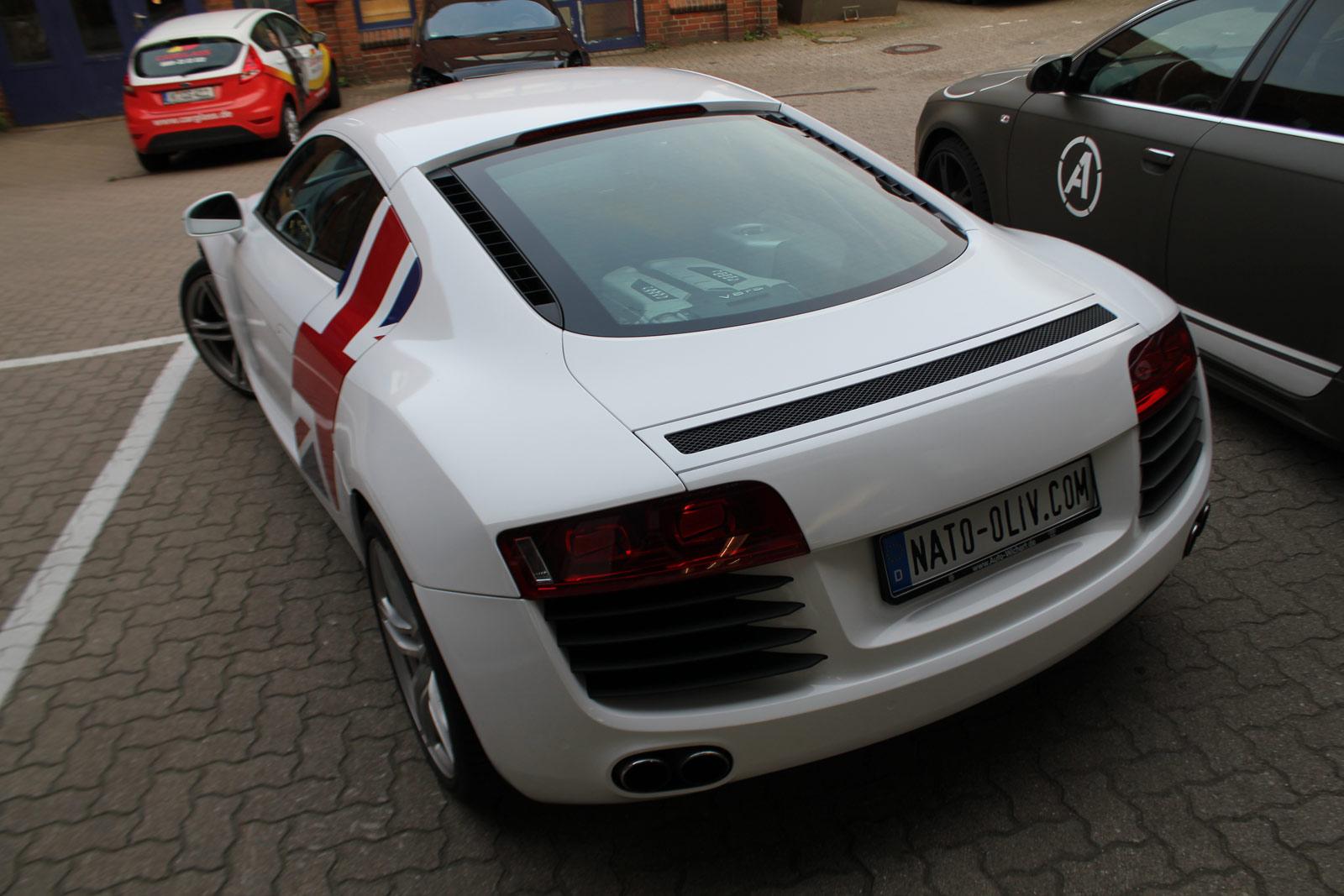 Audi_R8_Folierung_Weiß_Glanz_Union_Jack_Flagge_16