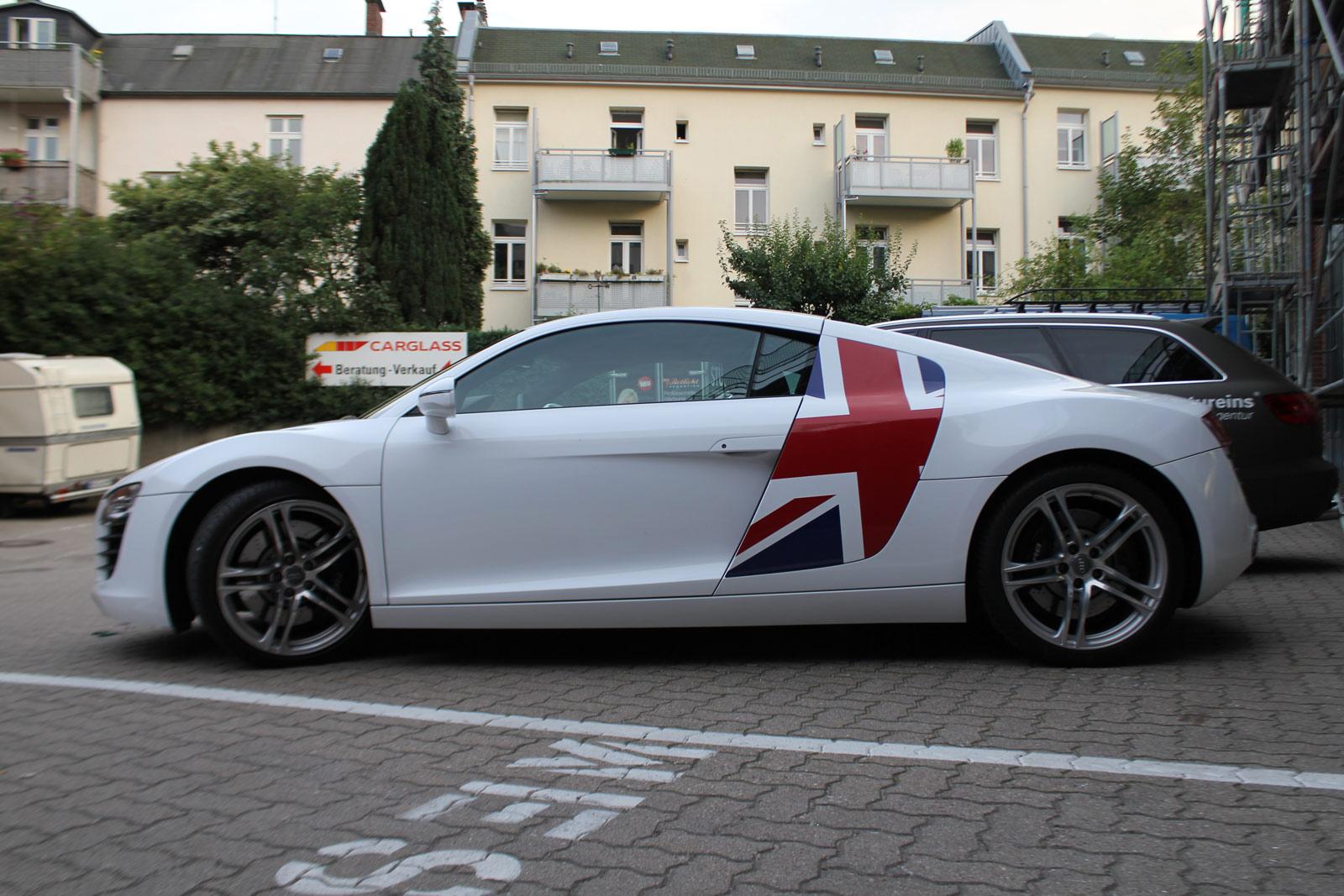 Audi_R8_Folierung_Weiß_Glanz_Union_Jack_Flagge_30