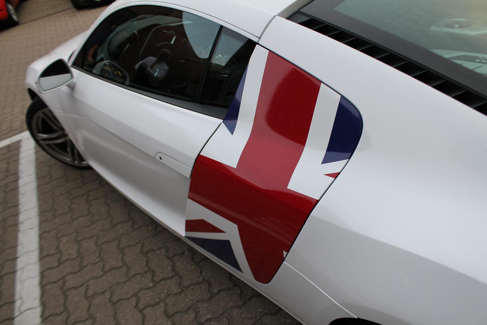 Audi_R8_Folierung_Weiß_Glanz_Union_Jack_Flagge_37