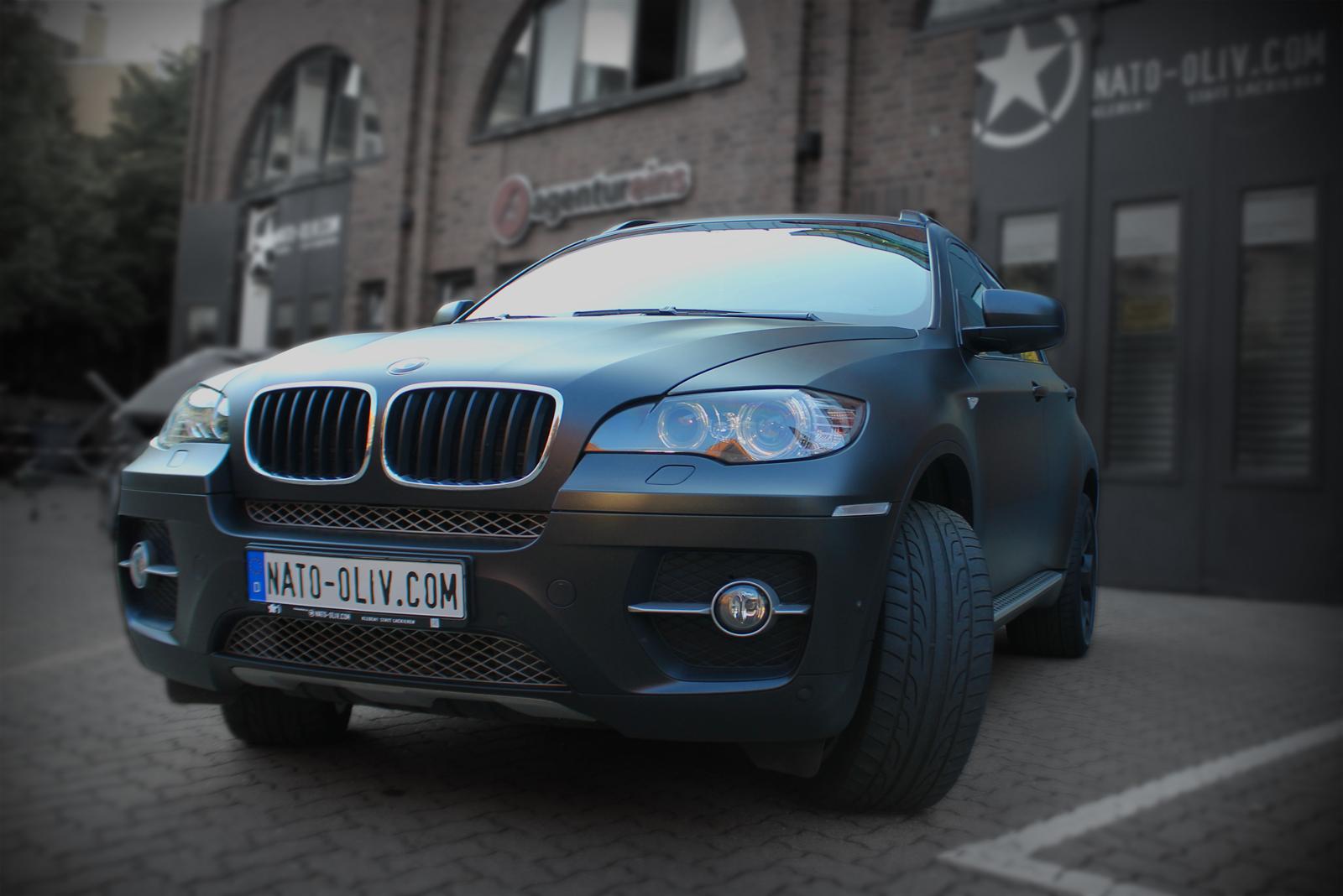 BMW_X6_Folierung_schwarz_metallic_matt_Titelbild