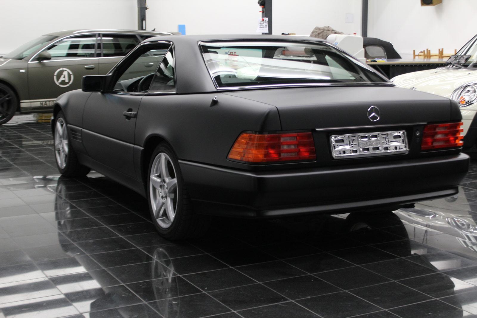 Mercedes_SL_Folierung_Schwarz_Matt_52