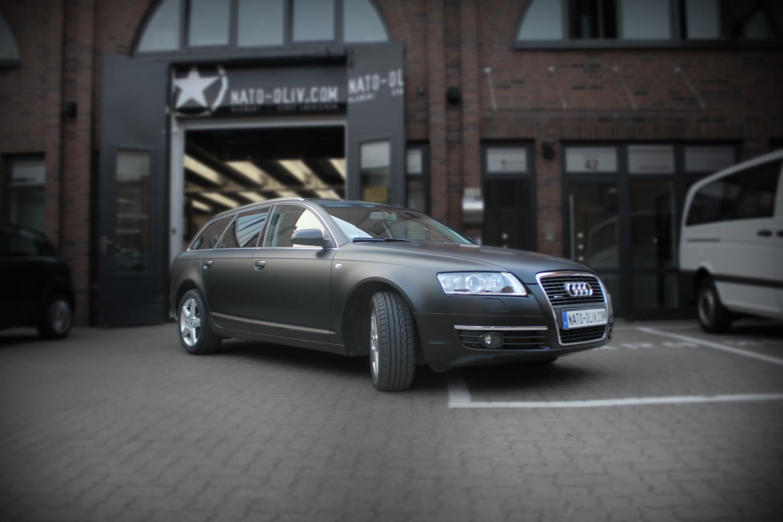 Audi_A6_Folierung_schwarz_matt_Titelbild
