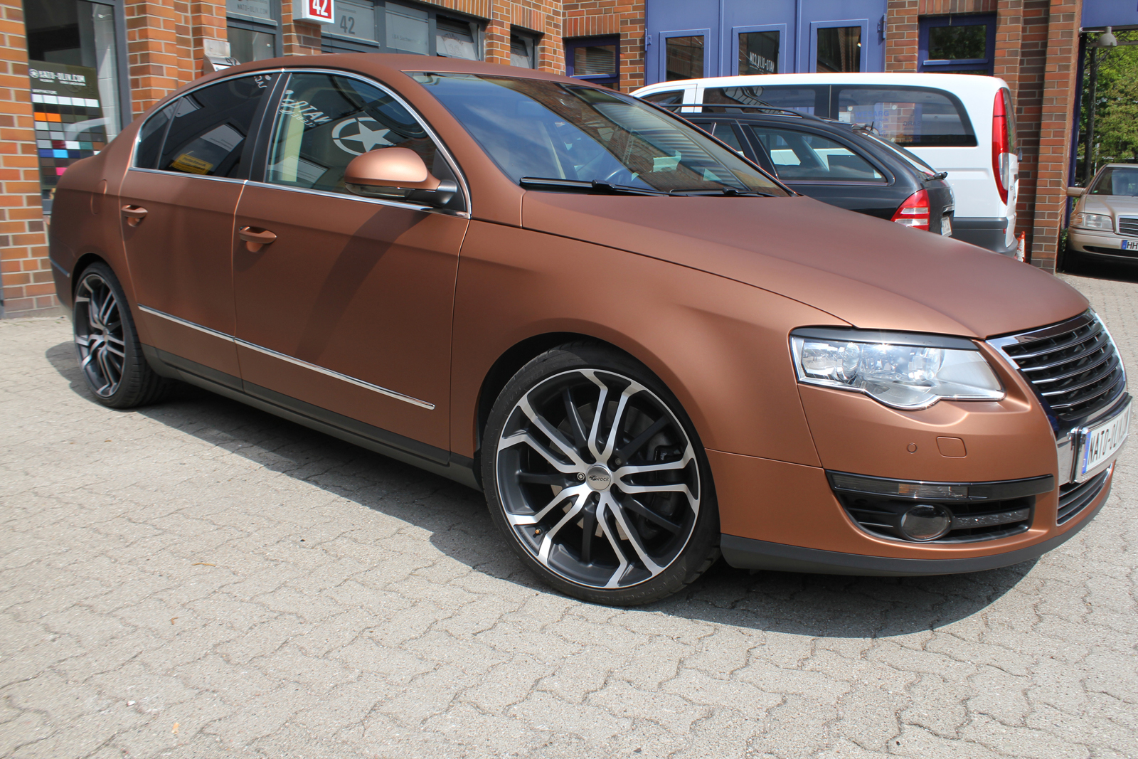 VW_Passat_Folierung_Bronze_matt_metallic_09