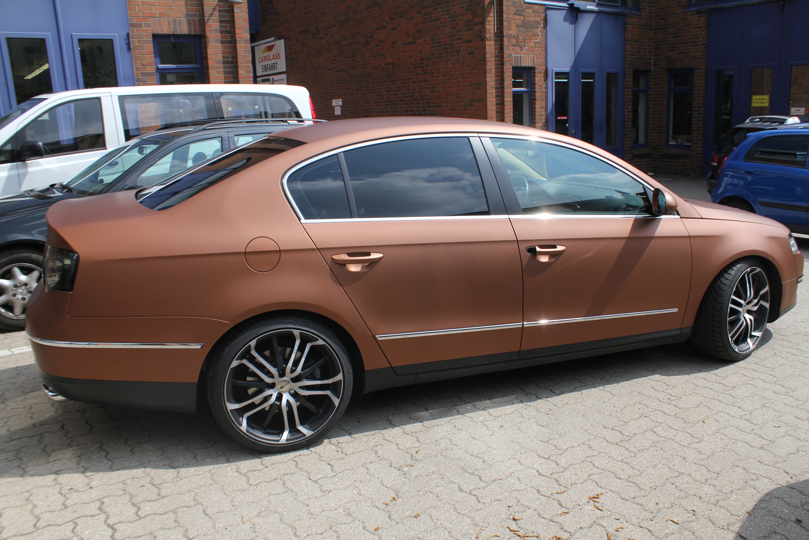 VW_Passat_Folierung_Bronze_matt_metallic_10