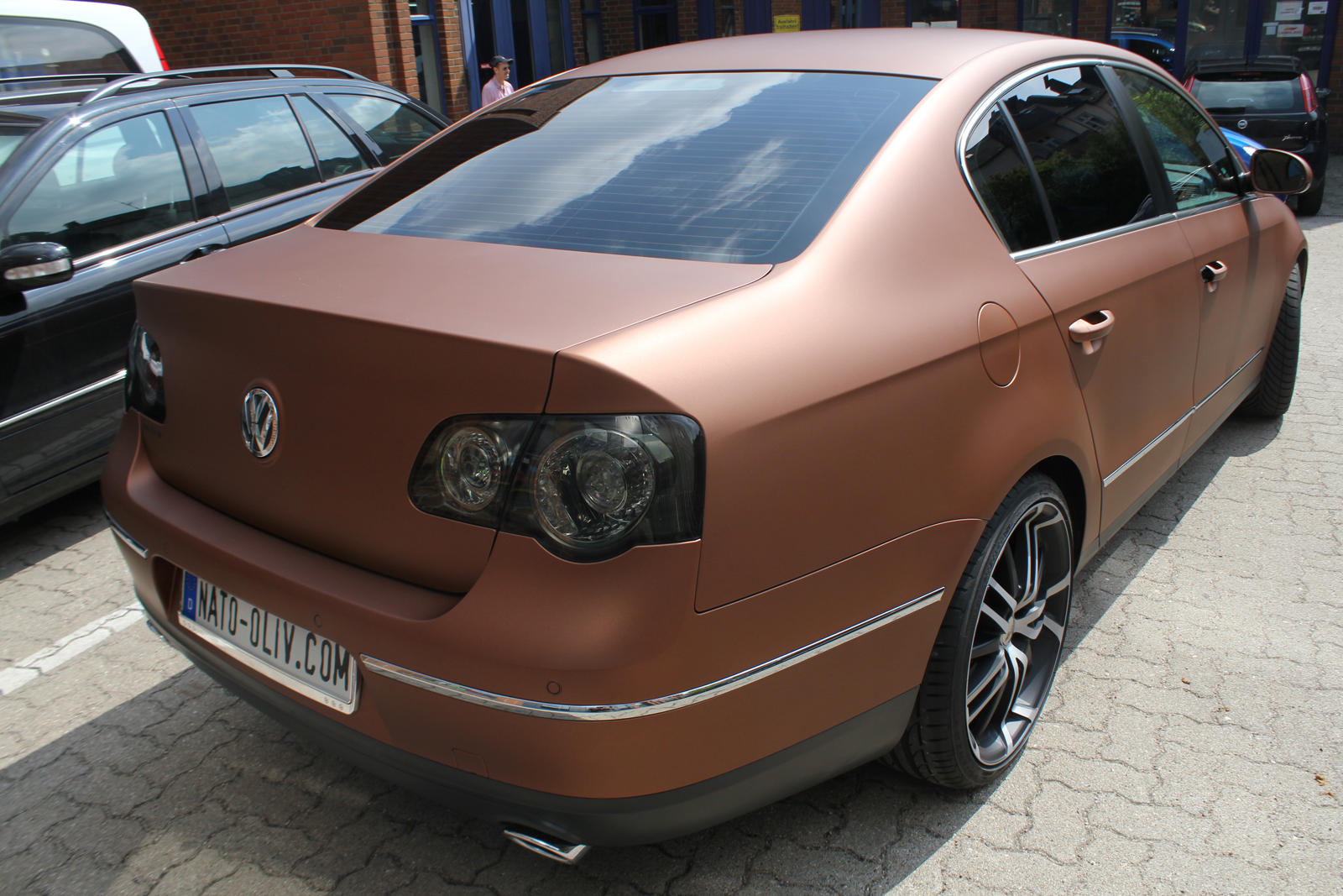 VW_Passat_Folierung_Bronze_matt_metallic_12