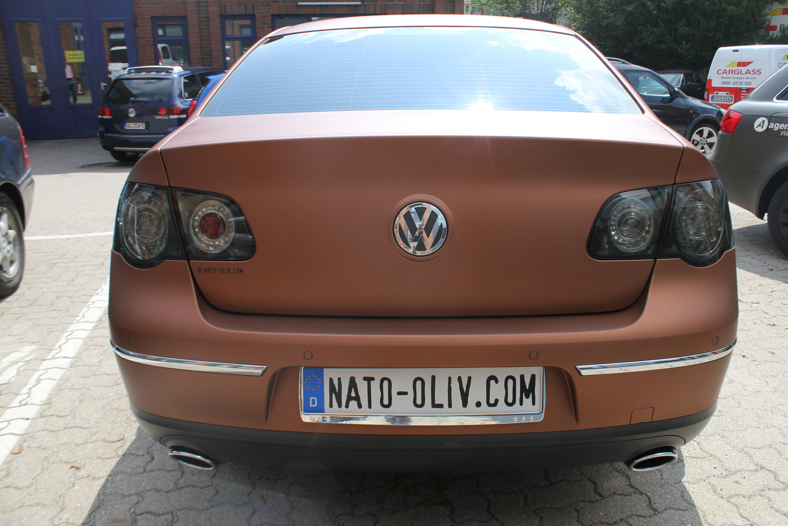 VW_Passat_Folierung_Bronze_matt_metallic_13
