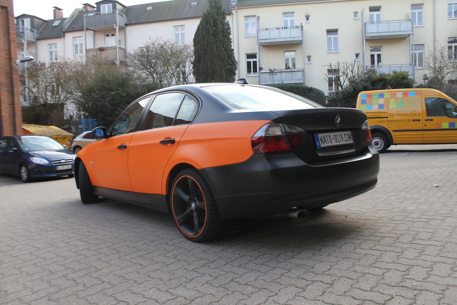 BMW_3ER_TEILFOLIERUNG_ORANGE_MATT_04