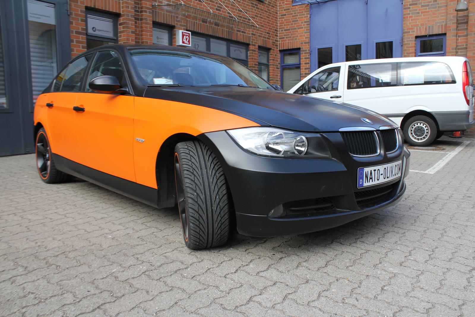 BMW_3ER_TEILFOLIERUNG_ORANGE_MATT_06