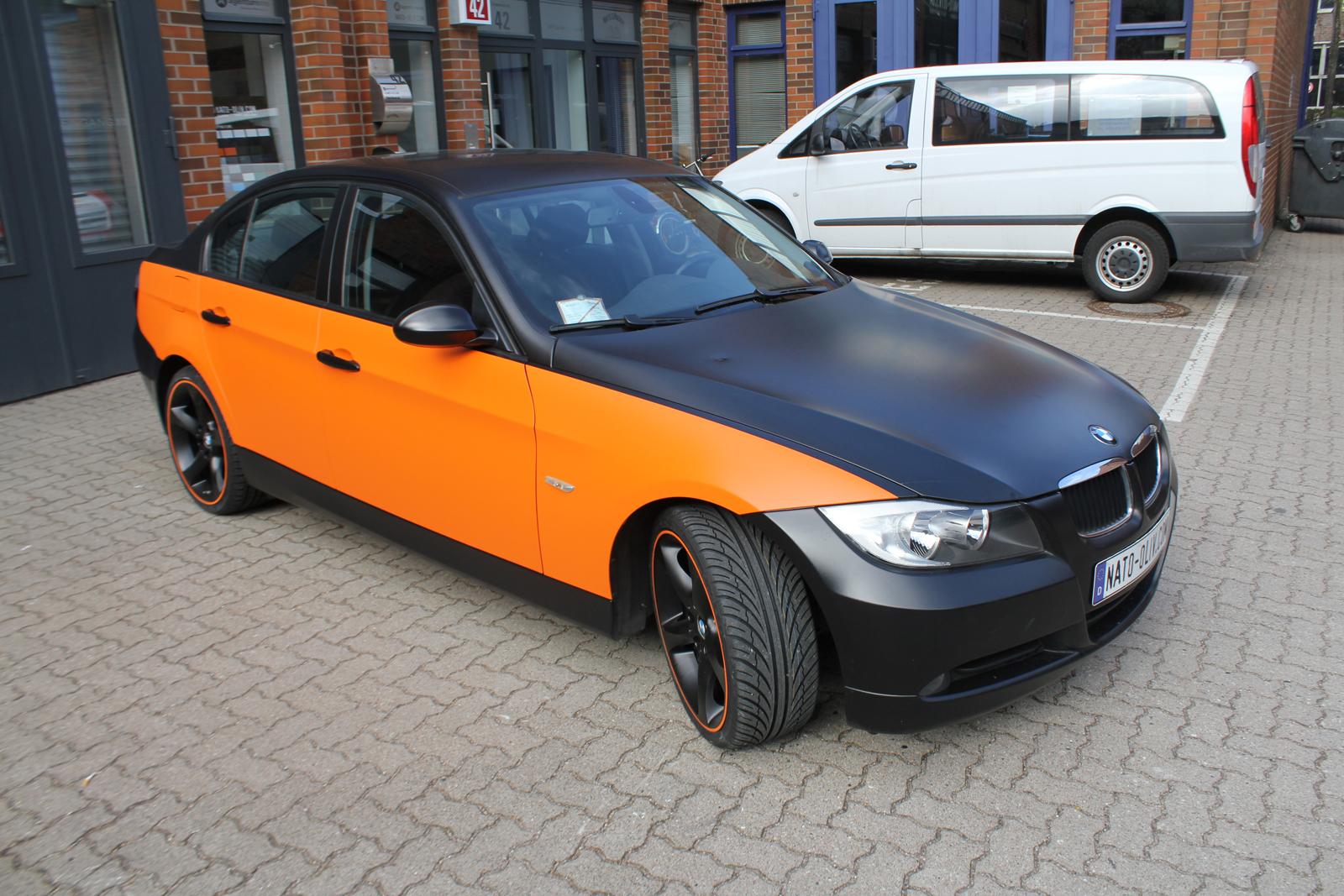 BMW_3ER_TEILFOLIERUNG_ORANGE_MATT_07