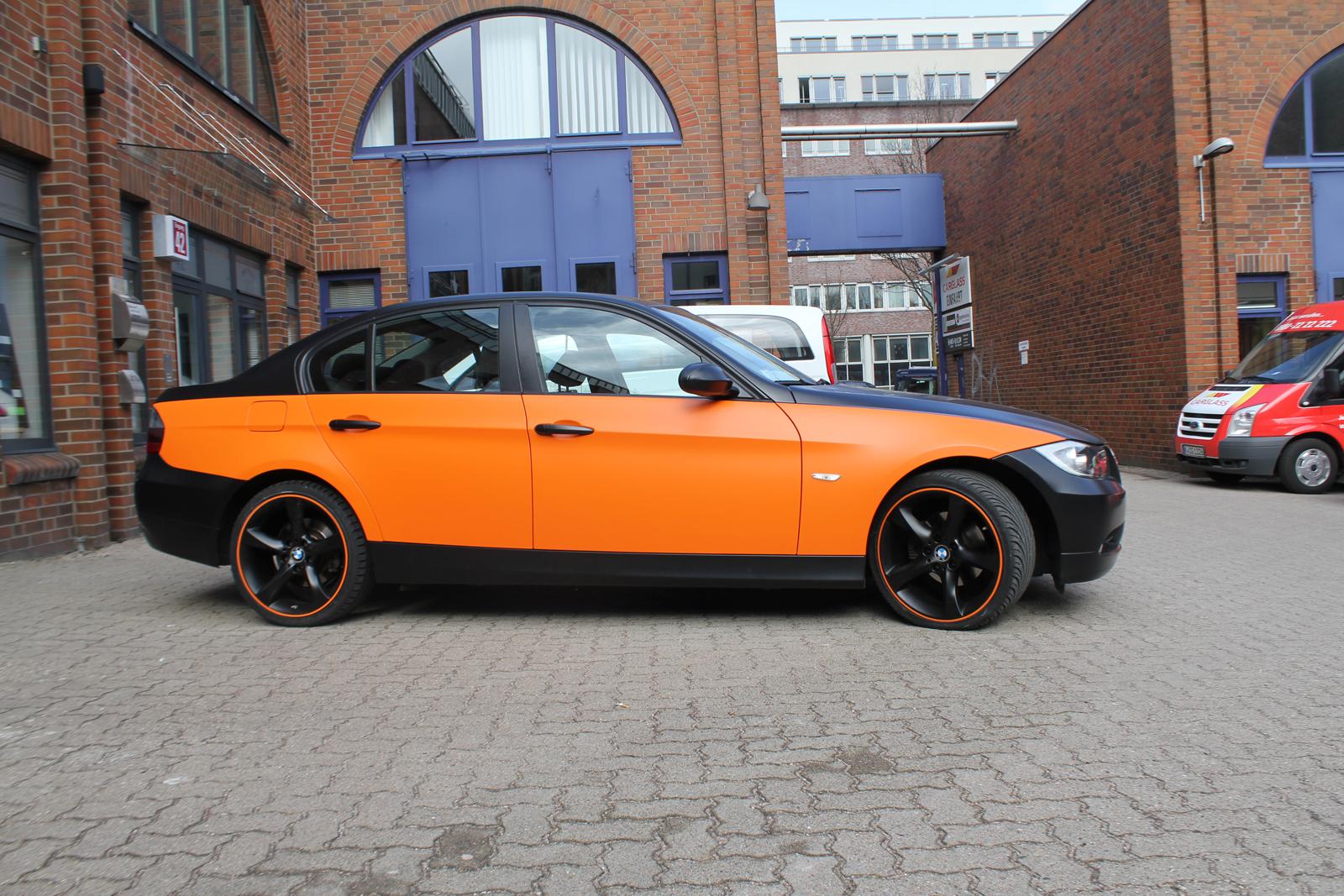 BMW_3ER_TEILFOLIERUNG_ORANGE_MATT_08