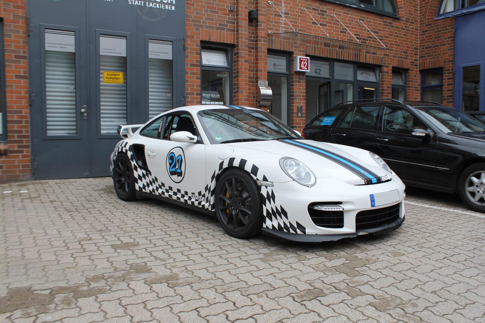 Porsche GT2 Folierung