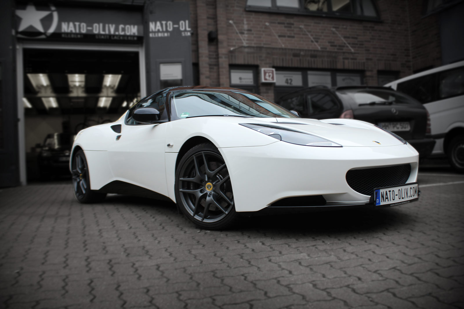 Lotus Evora S Folierung im Sports Racer Design.