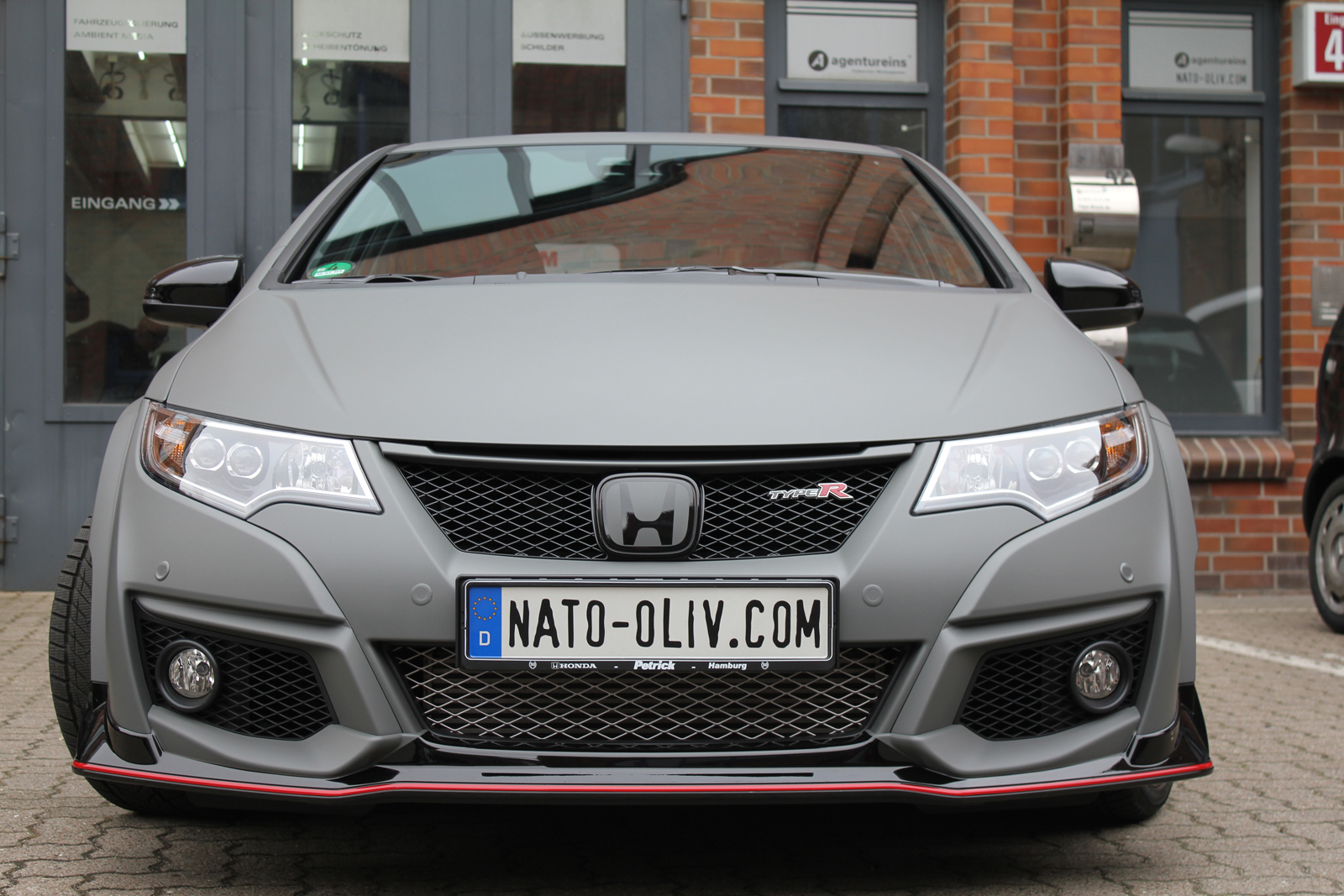 HONDA_CIVIC_TYPE-R_CAR_WRAPPING_GRAU_MATT_01