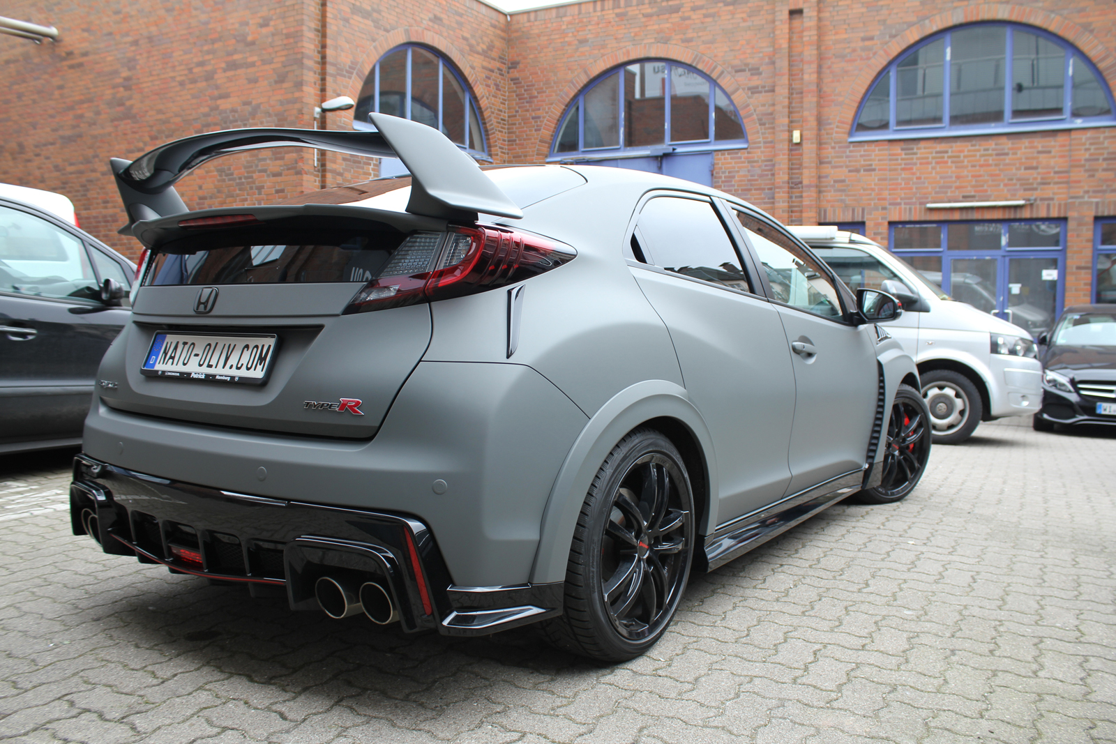 HONDA_CIVIC_TYPE-R_CAR_WRAPPING_GRAU_MATT_03